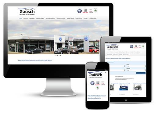 Autohaus Webseite Paket L