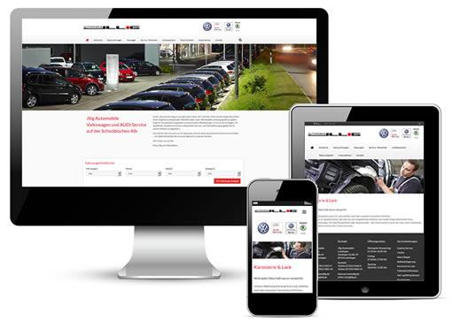 Autohaus Webseite Paket M