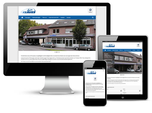 Autohaus Webseite Paket S